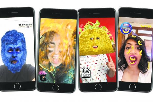 Snapchat Sponsored lens