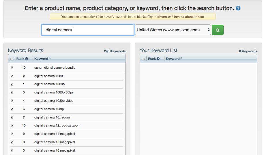 KTD search tool