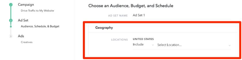 geography Snapchat ad