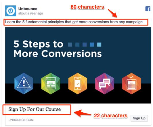 facebook ad mistakes - Unbounce Facebook ad