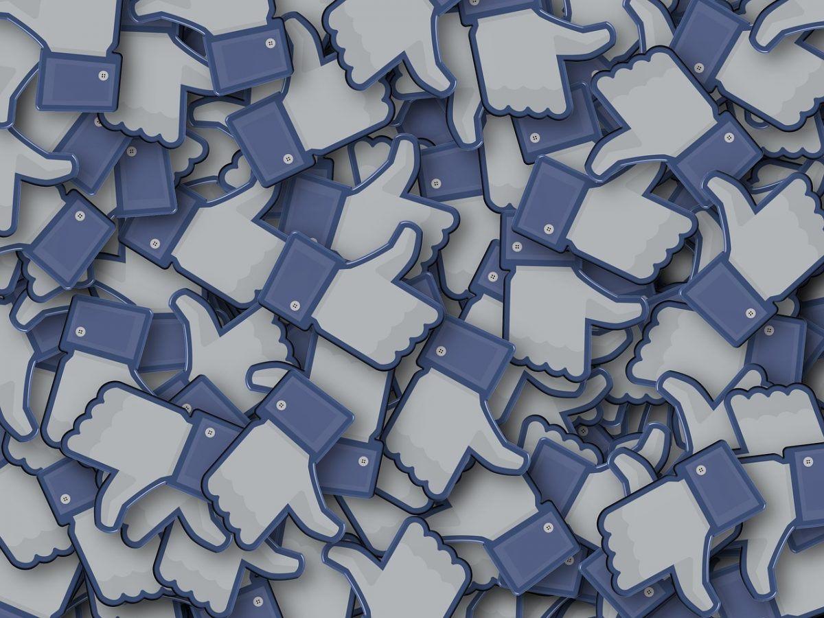 Facebook ad like