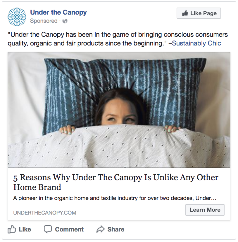 best Facebook ads of 2017