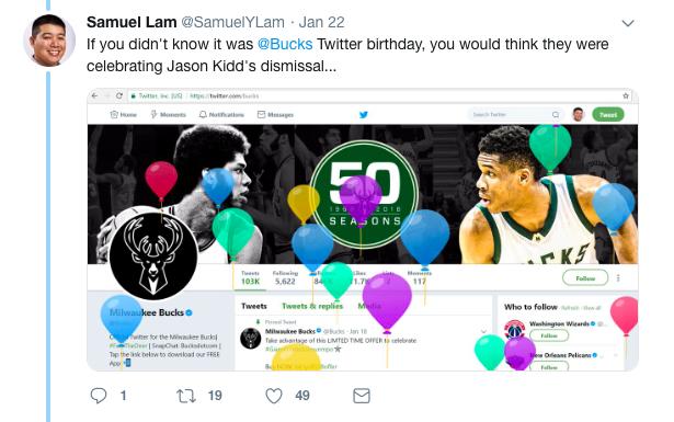bad marketing campaigns - Bucks Twitter response